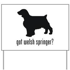 Welsh Springer Yard Sign
