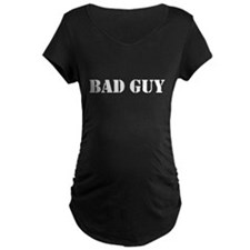 Bad Guy Maternity Dark T-Shirt