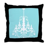 Elegant Chandelier Throw Pillow