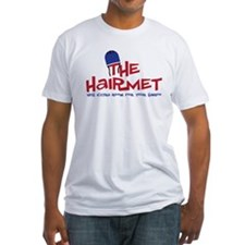 The Hairmet Fitted T-Shirt
