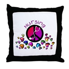 Nursing Student Throw Pillow
