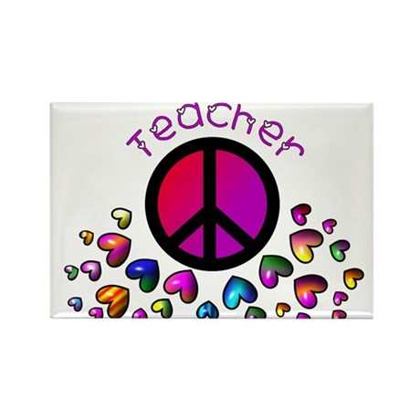 Teachers Rectangle Magnet (10 pack)