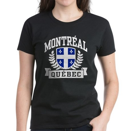 Montreal Quebec Women's Dark T-Shirt