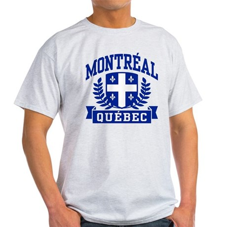 Montreal Quebec Light T-Shirt