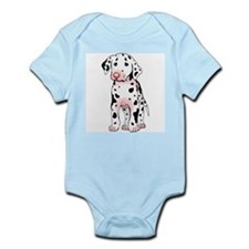 Dalmatian Puppy Cartoon Infant Creeper