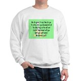 Retired Nurse Story Art Sweatshirt