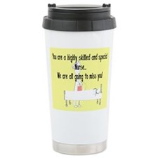 Retired Nurse Story Art Ceramic Travel Mug