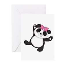 Happy Panda Greeting Cards (Pk of 20)