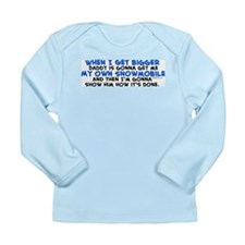 My Own Snowmobile Long Sleeve Infant T-Shirt