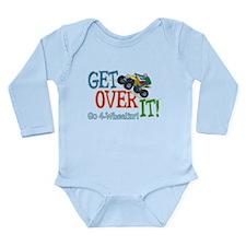 Get Over It - 4 Wheeling Long Sleeve Infant Bodysu
