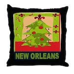 New Orleans Art Throw Pillow