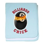 Billiards Chick 2 Infant Blanket