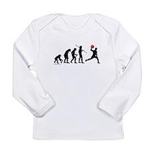 Dodgeball Evolution Long Sleeve Infant T-Shirt