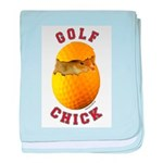 Golf Chick 2 Infant Blanket