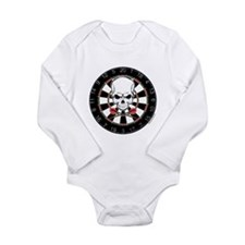 Dart Pirate Long Sleeve Infant Bodysuit