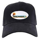 Topsail Beach NC - Beach Design Baseball Hat