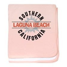 Laguna Beach California baby blanket