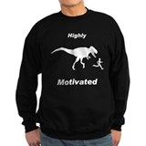 Motivation T Rex and Running Sweatshirt