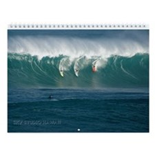 Waimea Bay Big Wave Contest Wall Calendar