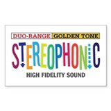 Stereophonic Decal