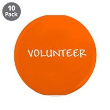 "Funny Volunteering 3.5"" Button (10 pack)"