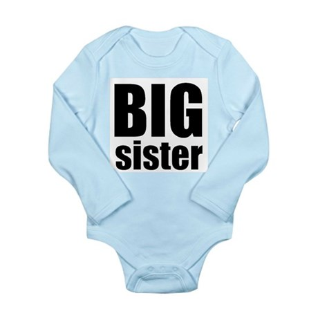 Big Sister Long Sleeve Infant Bodysuit