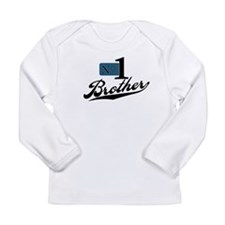 Number One Brother Long Sleeve Infant T-Shirt