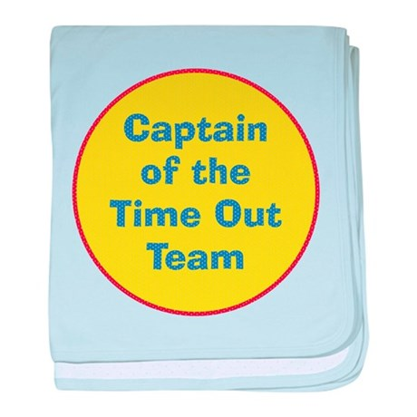 Time Out Team Captain Infant Blanket