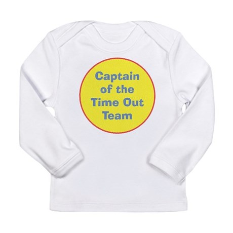 Time Out Team Captain Long Sleeve Infant T-Shirt