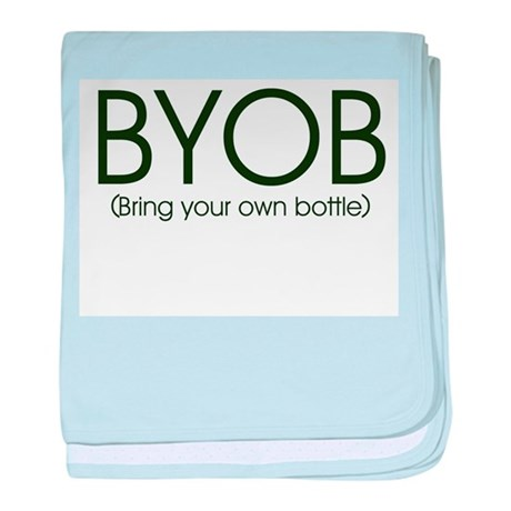 BYOB-bottlefeeding Infant Blanket
