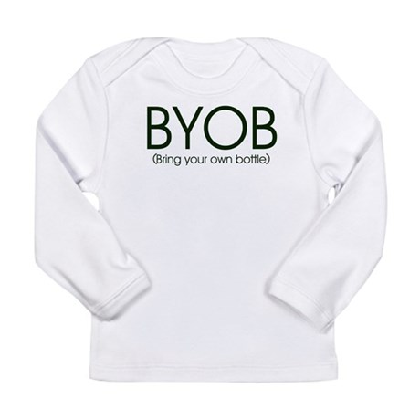 BYOB-bottlefeeding Long Sleeve Infant T-Shirt