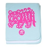 Year of Tiger Infant Blanket