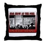 Pike Side Show Throw Pillow