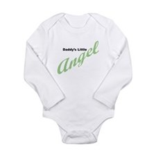 Daddy's Little Angel Long Sleeve Infant Bodysuit