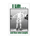 and Dan John laughs Mini Poster Print