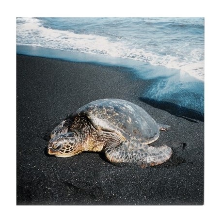 Honu Tile Coaster