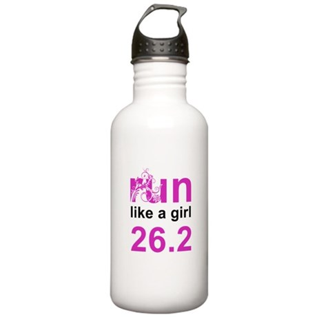 run like a girl 26.2 Stainless Water Bottle 1.0L