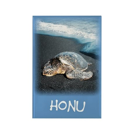 Honu Rectangle Magnet