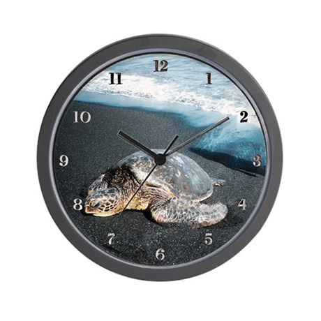 Honu Wall Clock
