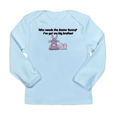I've Got My Big Brother! Long Sleeve Infant T-Shir