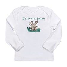 It's My First Easter Long Sleeve Infant T-Shirt
