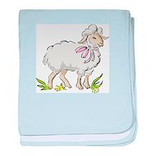 Spring Lamb Infant Blanket