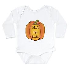Mimi's Little Pumpkin Long Sleeve Infant Bodysuit
