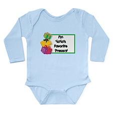 YaYa's Favorite Present Long Sleeve Infant Bodysui