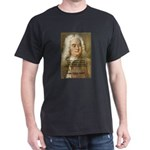 Influence of Music:  Handel a Black T-Shirt