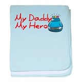 Police - My Daddy My Hero Infant Blanket