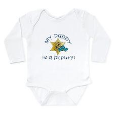 Daddy Deputy Long Sleeve Infant Bodysuit