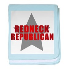 Redneck Republican Infant Blanket