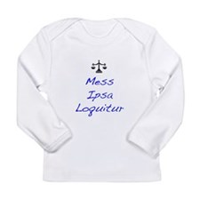 Funny Attorney Long Sleeve Infant T-Shirt