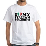 I Love My Italian Girlfriend Shirt